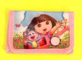 Dora The Explorer Children's Wallet— More Fun Characters Available Too NEW!