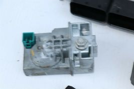 2012 Mercedes W204 C250 ECU Engine Computer EIS Ignition FOB ISL Set image 3