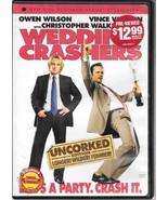 Wedding Crashers, DVD, Uncorked Edition, Longer, Wilder, Funnier - $2.75
