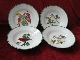 National Wildlife Federation  WFE3 Birds set of 4 soup bowls  - $19.75