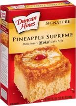Duncan Hines Signature Pineapple Supreme Cake Mix 15.25 Oz. (4 Pack) - $29.69
