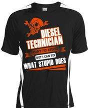 Diesel Technician I Can't Fix Stupid T Shirt, I Love Technician T Shirt,... - $16.99+