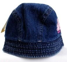 Oshkosh Fleece Lined Blue Denim Bucket Hat Toddler Girls NWT - $14.99