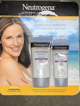 Neutrogena Ultra Sheer Dry Touch Sunscreen Lotion SPF 55 2 Pack 5 + 3 OZ. - $15.83