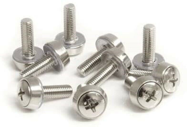 StarTech.com 100 Pkg M5 Mounting Screws and Cage Nuts for Server Rack Cabinet - $72.00