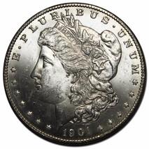 1901O MORGAN SILVER DOLLAR COIN Lot# EA 57