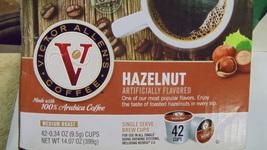 Coffee - Victor Allen's Coffee Medium Roast Single Serve Hazelnut Brew Cups Arab - $12.00