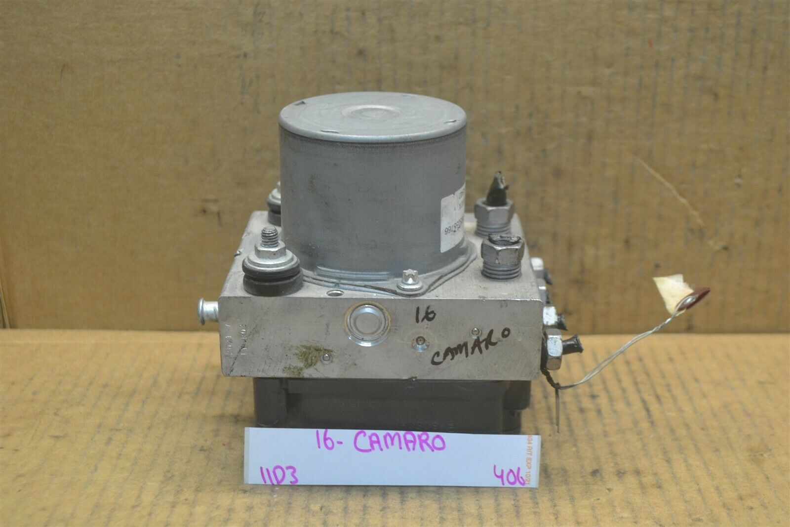 Primary image for 16-17 Chevrolet Malibu ABS Pump Control OEM 065055766 Module 406-11d3