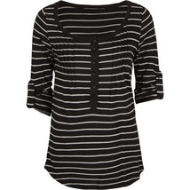 Hurley Black Luna Top Size Large Brand New - $19.95