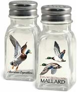 American Expedition Mallard Duck Salt and Pepper Shaker NEW Gift Camp Wa... - £6.81 GBP
