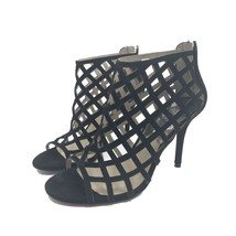 MICHAEL KORS Yvonne Black Caged Heels Size 9 ST145 - $68.00