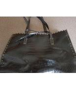 LIZ CLAIBORNE Brand ~ BLACK ~ HANDBAG - $23.76