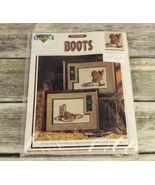 1 Vintage 1990 Volume #10402 Dorene Kidd's Boots Leaflet Pattern  - $14.99