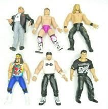 WWE Wrestlers Lot 1998 Jakks Slaughter Billy Gunn Edge Mankind Road Dogg... - $18.98