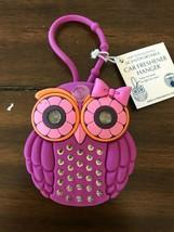 Bath & Body Works Scentportable Car Freshener Hanger Pink Owl with Light... - $30.00