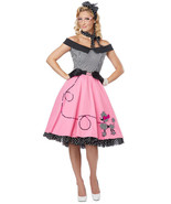 Nifty 50's Poodle Dress Outfit - $29.99