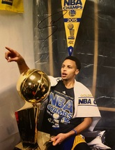 STEPHEN CURRY AUTOGRAPHED HAND SIGNED GOLDEN STATE WARRIORS 11x14 PHOTO... - £147.13 GBP