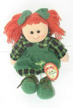 "Irish Rag Doll ROISIN Soft Plush Doll 12"" St. Patrick's Day - $14.83"
