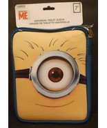 """2x TWO Despicable Me 7"""" Universal Padded Table Sleeve Pad Tablet Cover C... - $15.68"""