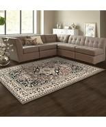 Superior Glendale Collection  Brown Oriental Design 4' x 6' Area Rug  - $47.47