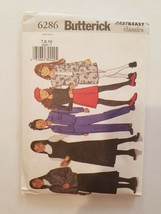Sewing Pattern Girls Clothing Sizes 7-8-10 Butterick Brand #6286 Jacket ... - $7.70