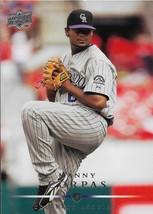 Manny Corpas Upper Deck 2008 #244 Colorado Rockies Chicago Cubs - $0.15
