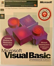 COMPLETE Microsoft Visual Basic 5.0 Professional Edition Retail Workstation - $27.67