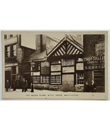 Old Real Photo Postcard RPPC The Seven Stars Pub Withy Grove Manchester,... - $24.45