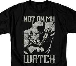 Batman t-shirt DC Comics superhero Not on my Watch graphic tee BM2866 image 2