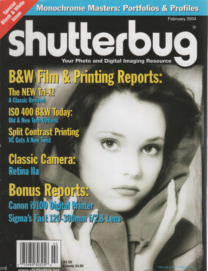 Primary image for Shutterbug FEB 2004 Magazine Photo & Digital Imaging Resource - Full Contents