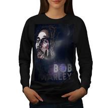 Legend Rasta Bob Marley Jumper Jamaica Women Sweatshirt - $18.99