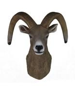 Sheep Head Wall Hanging Decoration Plastic simulation color - $98.36