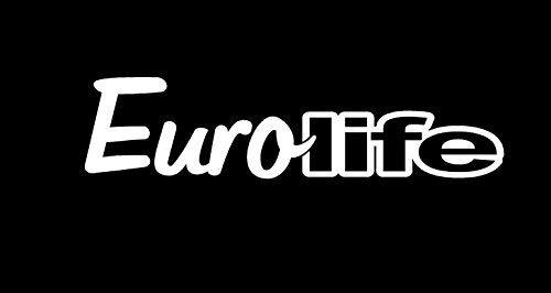 "Primary image for EUROLIFE V1 Vinyl Decal - size: 7"", color: WHITE - Windows, Walls, Bumpers, Lapt"