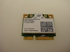 Intel Centrino Wireless-N 100 b/g/n 100BNHMW b/g/n PCI-E Half Mini WiFi ... - $10.68