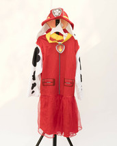 Girls Paw Patrol Marshall Dress w Hat Halloween Costume Rubies Medium - $18.95