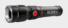Nebo Slyde Plus Black Led Work Flashlight Zoom 300 Lumens Aaa Extends 6564 New!! - $31.99