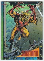 M) 1993 Marvel Comics Skybox Trading Card #31 Sabretooth - $1.97