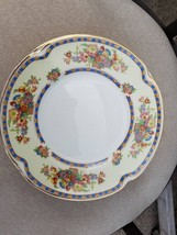 6    6 1/2 INCH PLATES  in Victoria (Floral Basket) by Johnson Brothers  - $24.70