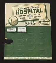 Vintage Hospital Brand Razer Blade Stand Up Dis... - $9.89