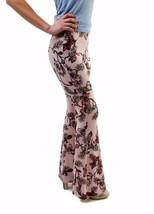 For Love & Lemons Women's New Floral Trousers Pants Pink Size M RRP $154... - $98.99