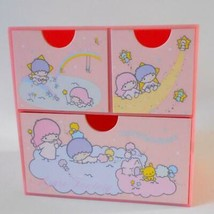 Sanrio Child Trinket Box Little Twin Stars Jewelry Box With Drawers 1976 - $59.39