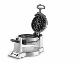 Belgian Waffle Maker Round Nonstick 1 in. Thickness 180 Degree Rotary Fe... - ₨8,648.95 INR