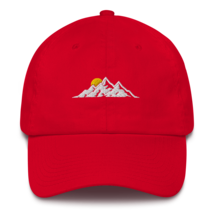 MOUNTAINS HAT / MOUNTAINS EMBROIDERED HAT / MOUNTAINS EMBROIDERED CAP / COTTON C image 5