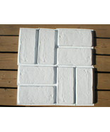 """15 Concrete Brick Paver Molds to Make 100s of #1151 6""""x12"""" Wall & Floor ... - $79.99"""