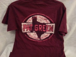 Pat Green, Adult Small (34-36) 100% preshrunk cotton Texas Music short sleeve T - $5.99