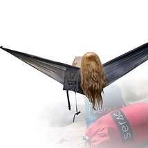 Serac [Premium Double Hammock & Strap Bundle] Sequoia XL Wide Camping Ha... - $48.16