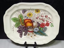 """Copeland Spode Reynolds Fruit Flower Basket 14.5"""" x 11"""" Deep Platter - $67.32"""