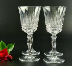 Vintage Cristal D'Arques - Villeneuve Pattern - Set of 4 - Durand Water ... - $84.00