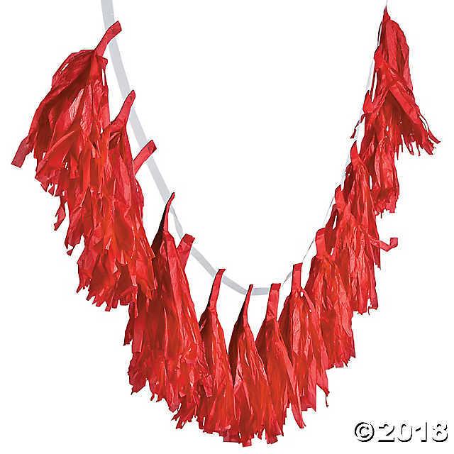 Red Tassel Garland - $8.99