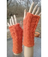 Distinctive Hand Knit Cabled Fingerless Gloves (Select Your Color) - $25.00
